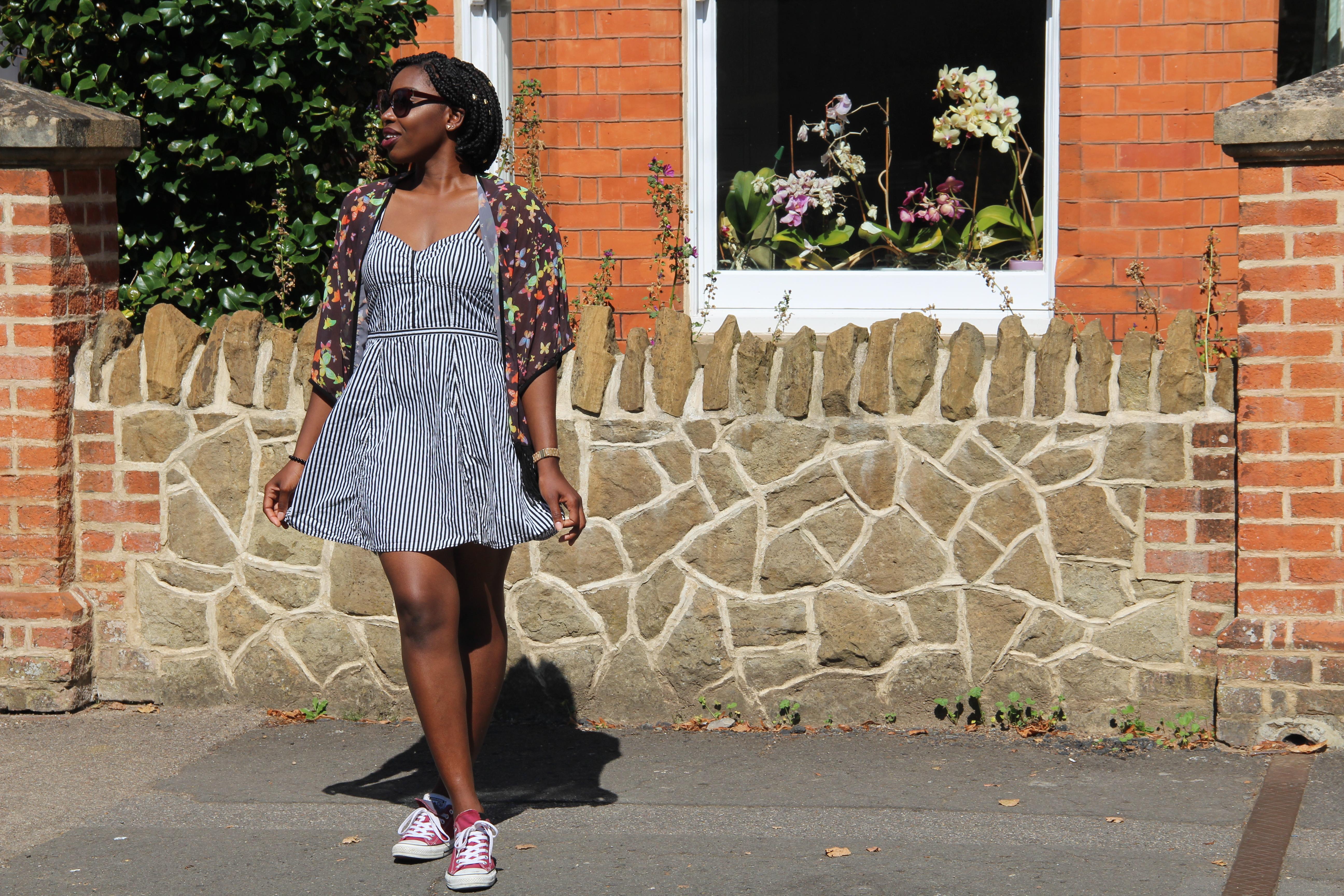 In My Little Striped Dress
