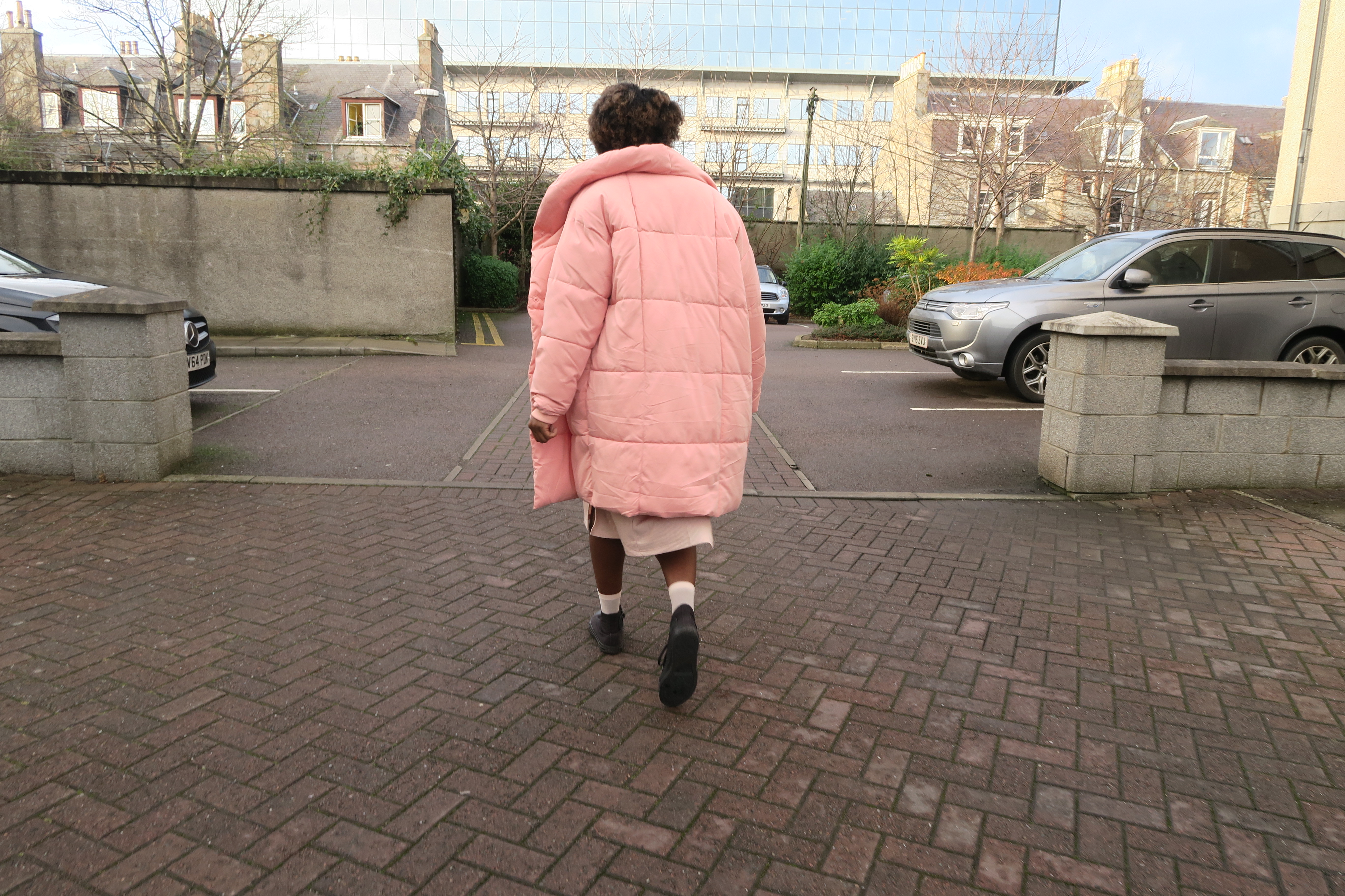 Puffer Jacket: 3 Shades of Pink